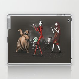 Thriller before Christmas Laptop & iPad Skin