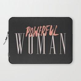 POWERFUL WOMAN Laptop Sleeve