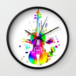 Violin Wall Clock
