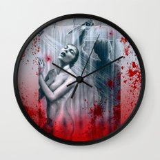 Shower Slasher Wall Clock