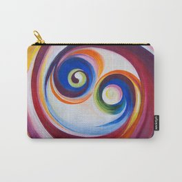 Multicolored spirals Carry-All Pouch