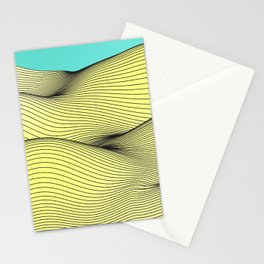 Yellow Landscape Stationery Cards