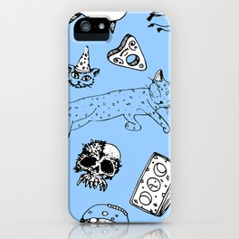 pattern witchcraft iPhone Case