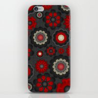 Dark Romance Floral iPhone & iPod Skin