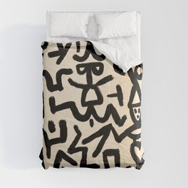 Klee's Comedians Handbill Comforters