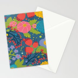 Color Flowers Stationery Cards