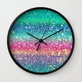Summer Surf Wall Clock
