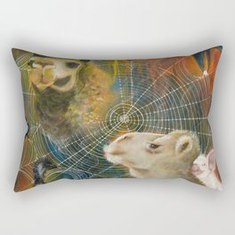 SACRED JOURNEY  Rectangular Pillow