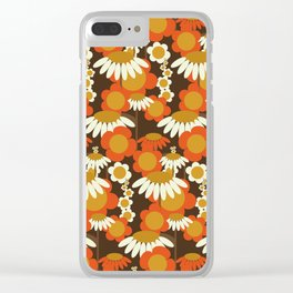 Daisy Chain Clear iPhone Case