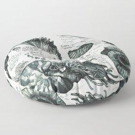 Sketchbook - Fossils Floor Pillow