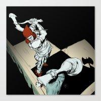 revolution Canvas Prints featuring Revolution by Mitt Roshin