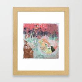 Bird Party Framed Art Print
