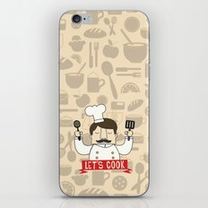 Let's Cook! iPhone & iPod Skin