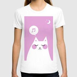 Sound Asleep Cat T-shirt