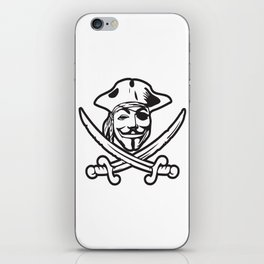 Digital Pirates iPhone Skin
