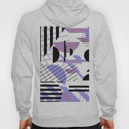 Shape Central - Geometric Abstract Pattern Hoody