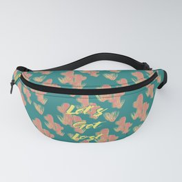 Let's Get Lost #society6 #decor #buyart Fanny Pack