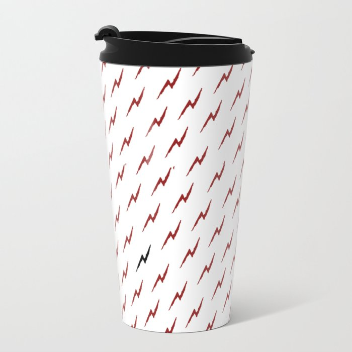 lightning bolt scar Travel Mug