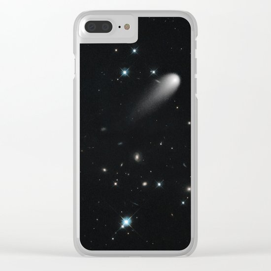 Galaxy: STArS & Comets Clear iPhone Case