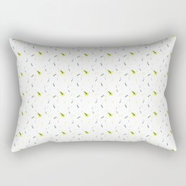 Tropical-Zebra Awakening Rectangular Pillow