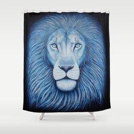 'Majesty' Star Lion Shower Curtain