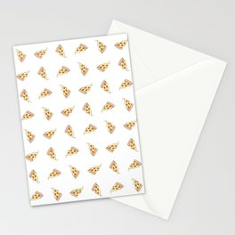 In Pizza We Trust Stationery Cards