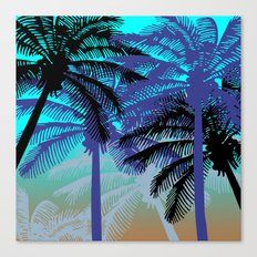 L.A. Sunset Canvas Print