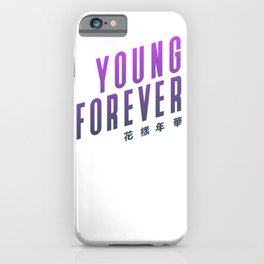 BTS ! Young Forever iPhone Case