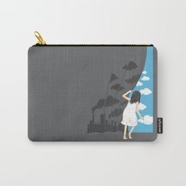 Hey Mr. Blue Sky Carry-All Pouch