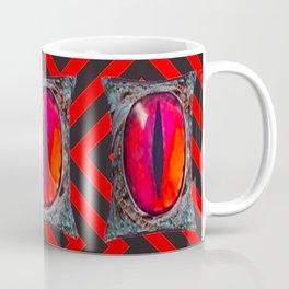 Mystic All Seeing Dragons Eye Talisman Coffee Mug