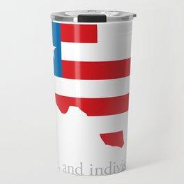 7th Flag of Texas Travel Mug