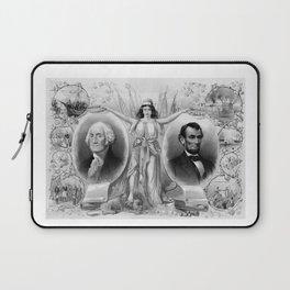 Washington and Lincoln Laptop Sleeve