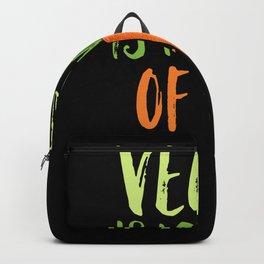 Vegan Is My Way Of Life Backpack