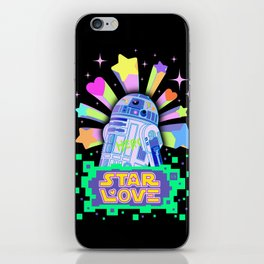 R2-D2 Star Love iPhone Skin