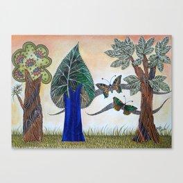 Butterflies in love II Canvas Print