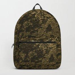 Antique jazz golden velvet Backpack