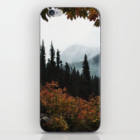 Fall Framed Trail iPhone & iPod Skin