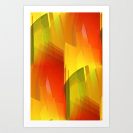 for sheer curtains and more -16- Art Print