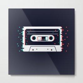 Vintage cassette Metal Print