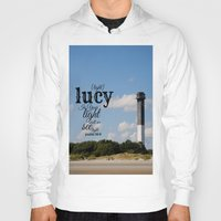 lucy Hoodies featuring Lucy by KimberosePhotography