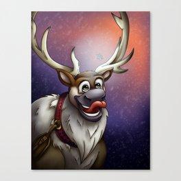 A Taste of Winter Canvas Print