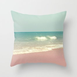 Sea waves 4 Throw Pillow