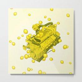 Sour Diesel Metal Print