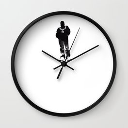 Igh Kihl Media Standing Man Logo Wall Clock