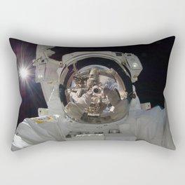 space selfie Rectangular Pillow