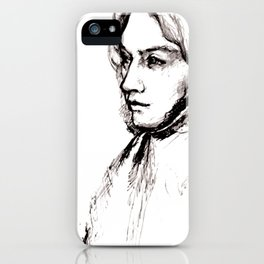 Museum Sketch: Feuerbach iPhone Case