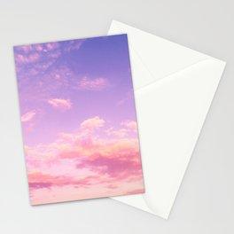 Cranberry Sky Pink Sunrise Print Stationery Cards