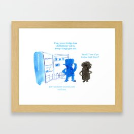 FRIDGE Framed Art Print