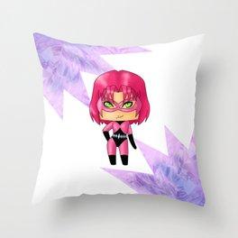 Chibi Diamondback Throw Pillow