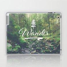Mountain of solitude - text version Laptop & iPad Skin